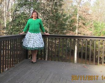 Pinecone Christmas skirt