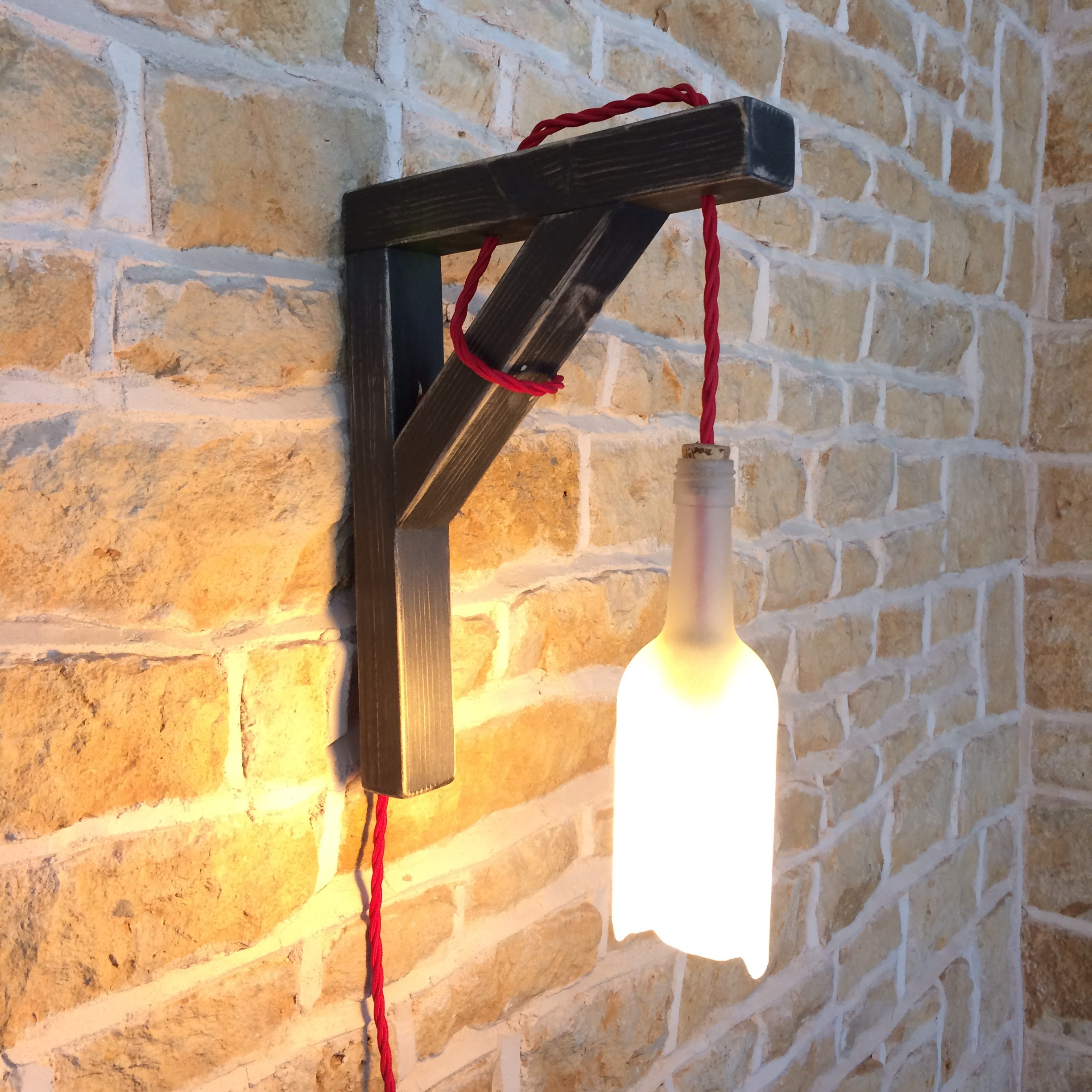 wall light wall sconce hanging bottle hanging wall light wall