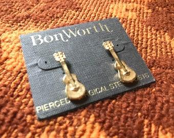 Bonworth Guitar Earrings