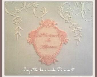 Pink House charm Locket