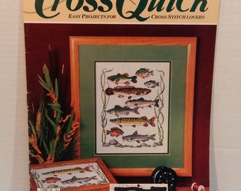 Vintage Cross Quick Easy Patterns For Cross Stitch Lovers 12 Patterns Magazine