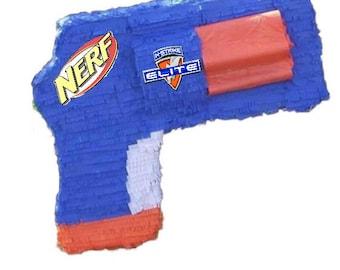 Nerf pinata Nerf gun birthday Party