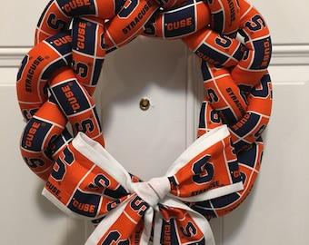 Syracuse Wreath - Syracuse Orange - Syracuse University - Syracuse Sports - Syracuse Football - Syracuse Basketball