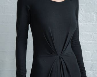 Jersey Drape Dress / Evening Dress / Full Length Gown / Elegant Wear / Prom Dress / Party Dress / Marcellamoda - MD0908