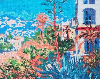 Monet's Villas in Bordighera--LB05230