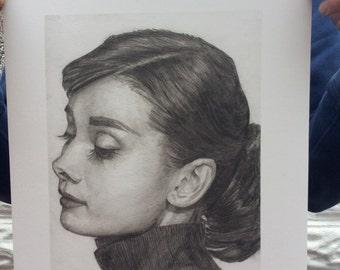 Audrey Hepburn Limited Edition Print