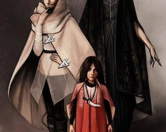 Bene Gesserit Ladies of Dune - 4x6.5in CARD