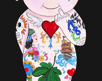 Baby Tatts Original by Melody Smith