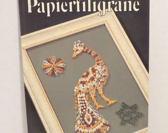 Papierfiligrane Paper Quilling by Marianne Stettler 1983