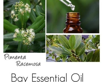 Bay Essential Oil, Bay Oil, Bay West Indies Essential Oils -- Authentic 100% Pure Bay EO