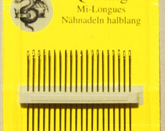 John James Needles - Quilting Needles Size 10