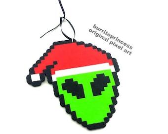 Alien Christmas Ornament