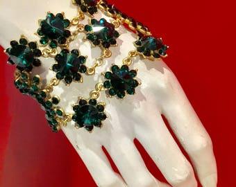 Emerald dream bracelet