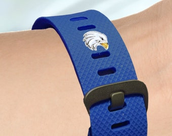 Fitness-Watch Charm, Eagle Charm; Fitbit Charm, Fitness Band Bling, Fitbit Accessories