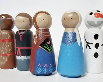 Norwegian Peg Doll set