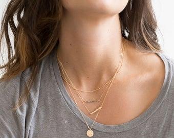 Multi Strand Necklaces Etsy