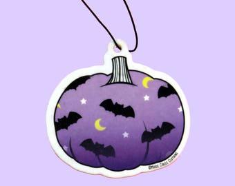 Batty Pumpkin Lavender Scented Air Freshener