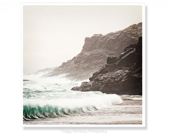 Wave Art Print, Wave Photography, Wave Wall Art, Donegal, Ireland, Irish Gift, Gift For Him, Ocean Photography, Made In Ireland