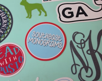 Southeast Monograms Sticker