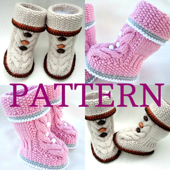 Knitting Pattern Baby Set Baby Bonnet Baby Hat Cap Knitted
