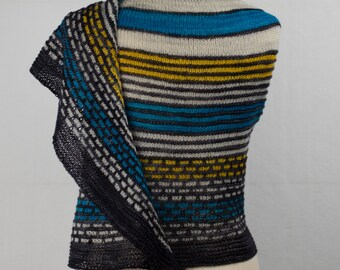 Assimilate 4 Color Yarn Kit - Stunning Superwash Fingering Weight - 100% Superwash Merino