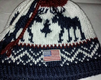 2010 Winter Olympic  Inspired slouchy Beanie (Made to Order)olympic opening ceremony  winter olympic slouchy hat