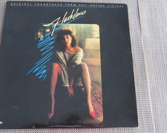 Vintage Flashdance Record LP Excellent Condition like new !