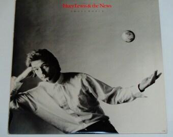 Huey Lewis & the News - Small World - Chrysalis Records 1988 - Vintage Vinyl LP Record Album