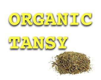 TANSY -  ORGANIC & Kosher Tansy Root Powder - By the ounce - Bulk Herbs