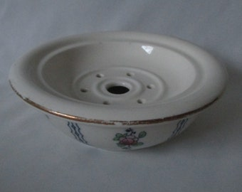 Rare Vintage Keeling & Co. England Losol Ware 'Hamilton' Butter Pat Keeping Dish