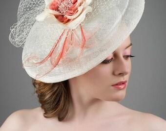 Kentucky Derby Hat - Ascot Hat - Saucer Hat