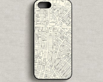 Vintage Map of Rochester New York Phone Case iPhone 5 5C 6 6+ 7 7+