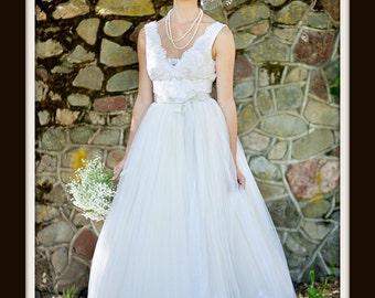 1950s Wedding Dress  'VALERIE'