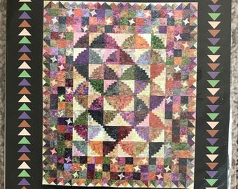 Mountain Retreat  - Quilt Pattern by Glad Creations, Inc. - Instructions for 2 sizes included!