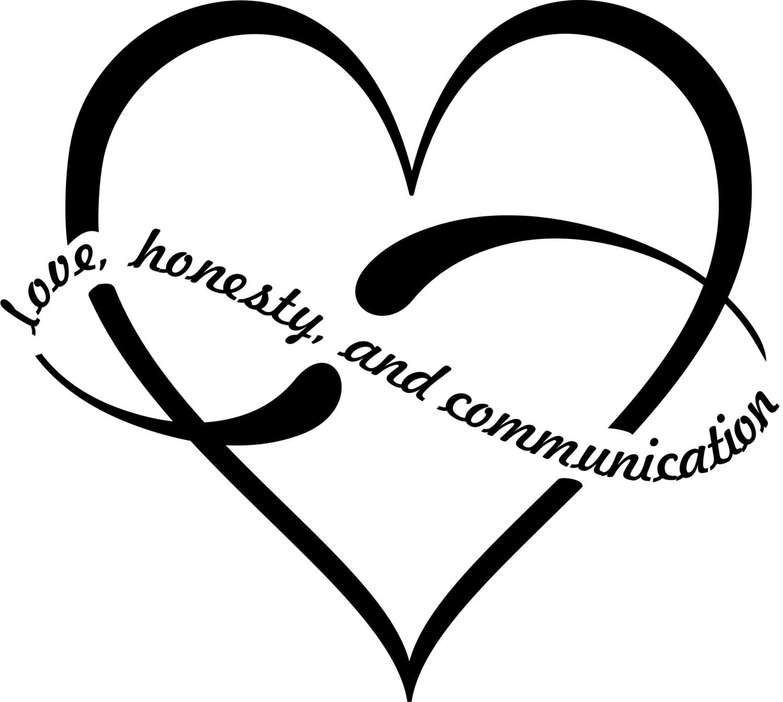 Polyamory infinite heart love honesty communication vinyl zoom buycottarizona