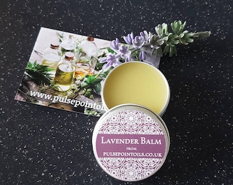 Lavender healing balm. Lip balm. Irritated skin & Nappy rash salve. Bedtime balm. First aid balm. Insect bites. Dry chapped skin salve.
