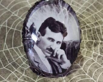 Nikola Tesla adjustable ring..Electric