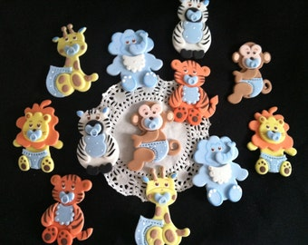Jungle Baby Shower, Safari Baby Shower, Jungle Baby Animal Decoration, Jungle Party Decorations, Safari Birthday, Baby Jungle Animal Decor