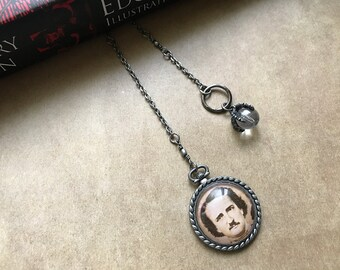 Edgar Allan Poe Raven Claw Book Thong Bookmark