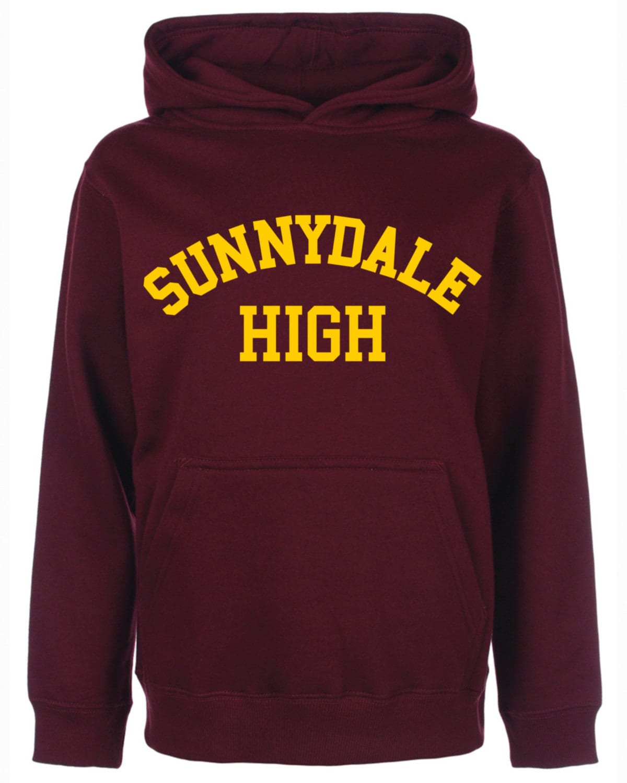 Sunnydale High School Class of 99 Men's Women's Unisex Cotton Hoodie Retro Geek Buffy the Vampire Halloween Costume, Christmas, Gifts, NEW