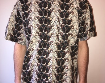 Funky Paisley Button Down