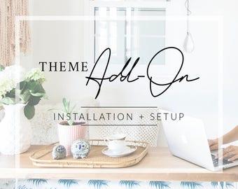 WordPress Theme Installation + Setup // WordPress Add-On