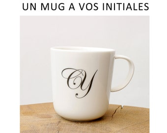 Mug with your initials