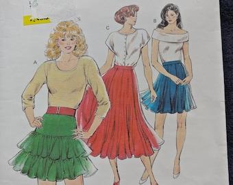 Kwik Sew Skirt Pattern 1706
