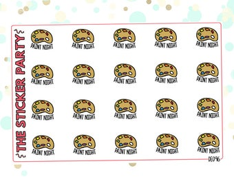 Paint Nite Planner Stickers