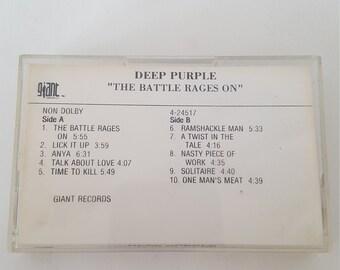Rare Deep Purple Promo Tape