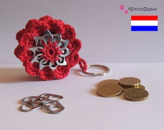 mini coin purse with pop tabs crochet pattern