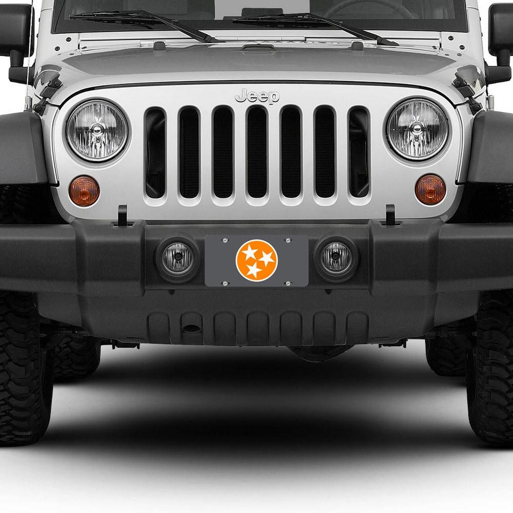 Tennessee License Plate Car Tag Orange White TN State Flag 3