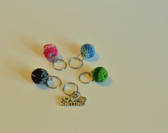 Knitting and Crochet stitch markers
