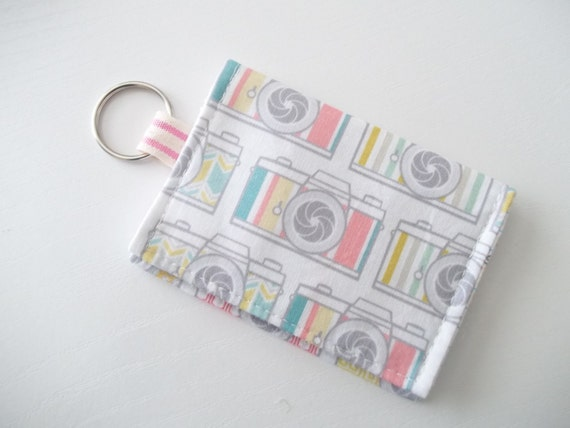 Camera keychain wallet cute business card holder like this item colourmoves